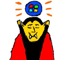 Vampire obtained Windows orb.