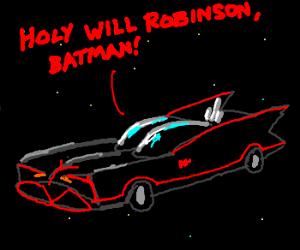 Batman & Robin Lost In Space