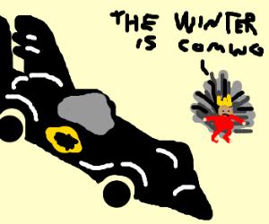 Old Skool Batmobile In Game of Thrones