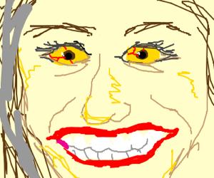 A yellow smiley face.
