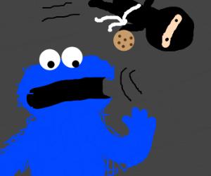 Ninja Thieves Cookie From Cookie Monster