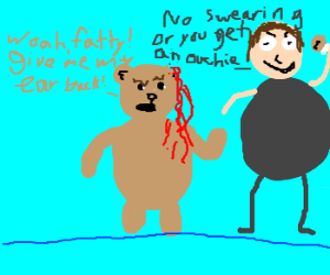 bloody bear