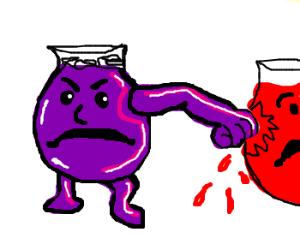 :awesome: - Drawception Purple Kool Aid Man