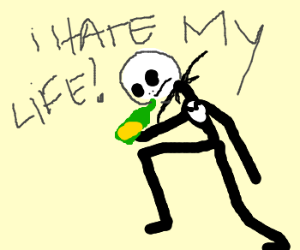 jack skeleton in his bad days