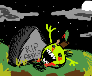 APPLE ZOMBIE RISES FROM GRAVE!!!!!