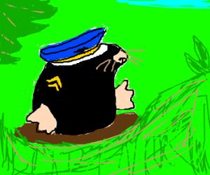 Officer Naked Mole Rat
