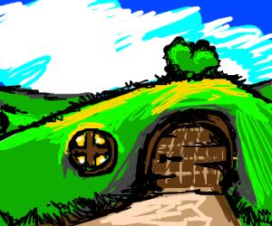 A hobbit hole in Underbush