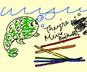 rainbow fishsticks