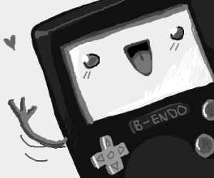 BMO and Gameboy have a baby