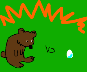 bear vs egg