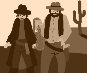 Old west posse