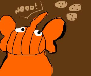pumpkin elephant hates cookies