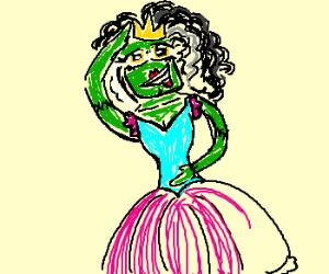 Teenage Prom Queen Frankenstein Monster