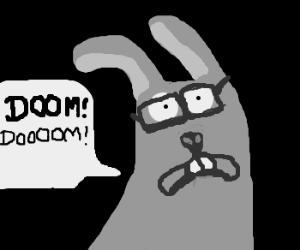 Four eyed bunny of DOOOOOOM