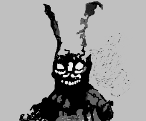 rabbit costume from Donnie Darko