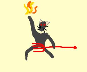 Promethean hell cat.