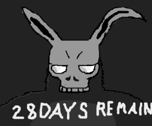 Frank the Bunny predicts the end