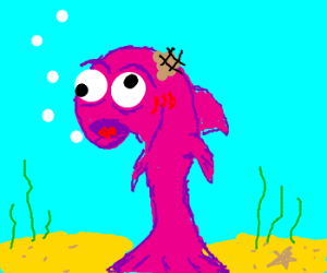 Derp-Fish has Tumor
