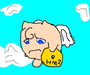 Sad Jigglypuff learned Fly