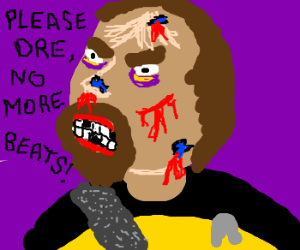 """Worf gots the """"beats by dre"""""""