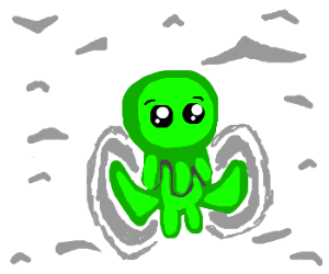 Cthulhu in the snow