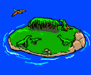 Dinosaur Plateau Island