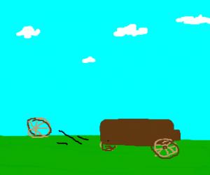 flying wagonwheel