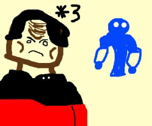 3 Worf, 1 Megas