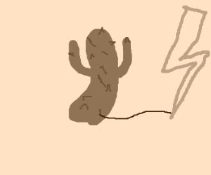 lightning powered cactus!