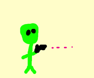 Alien Shooting
