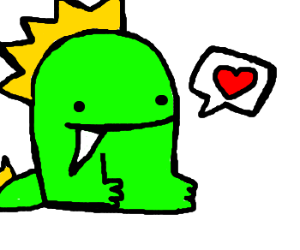 Rawr Dinosaur And I Love You Image