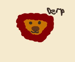 stupid lion