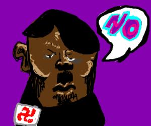 Black Hitler disagrees