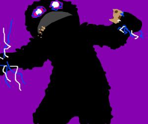 Cookie Monster reborn as...Surasshu!
