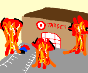 Napalm hits the wrong kind of Target