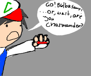 Forgetting which pokemon is in the ball