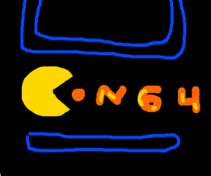 eating an N64, letters not console