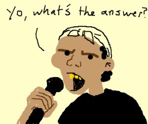 It's a question of rap
