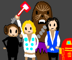 If the Star Wars cast were The Avengers.
