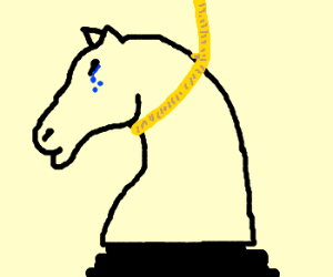 depressed chess knight