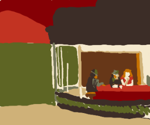 "Edward Hopper's ""Nighthawks"" painting."