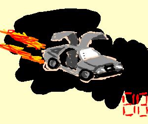 DeLorean for Back to the Future X