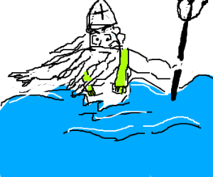 King Neptune is the new Pope