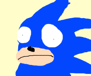 Sonic can't unsee the horror