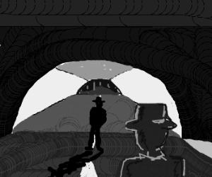 Tunnel-based rendevouz.
