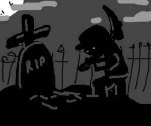 Nightsoil grave-robber