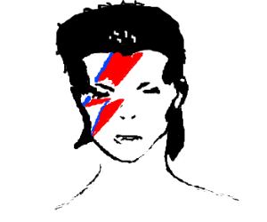 Ziggy Stardust. He played guitar.