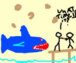 NOMNOMNOM SHARK TIME