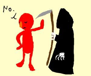 ELMO REFUSES DEATH