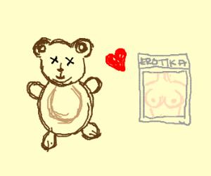 Dead Teddy Bear who likes Erotika